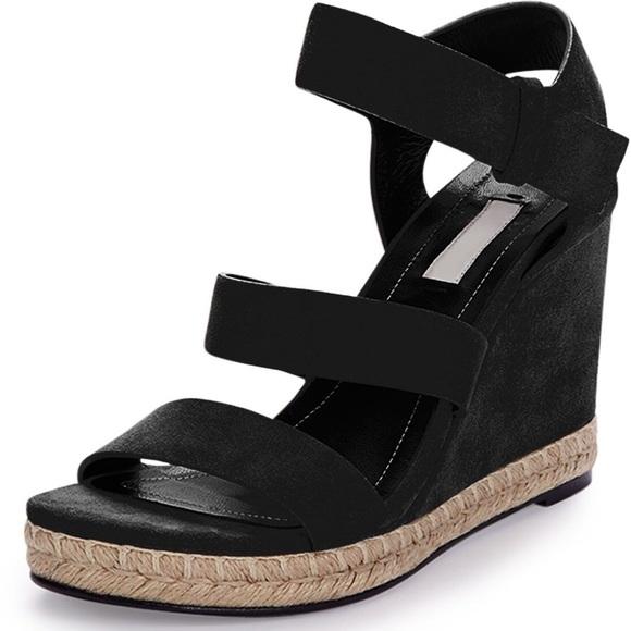 2e9ccdc944e6 🔆NEW🔆 BALENCIAGA Wedge Suede Sandals